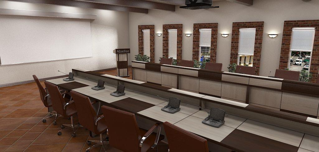 استانداردهای میز کنفرانس و گردهمایی