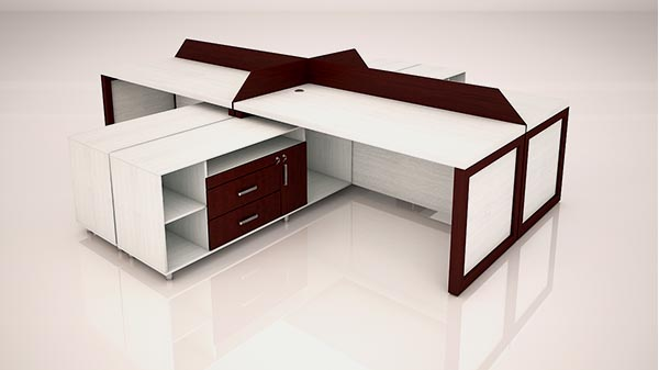 میز کارگروهی رکتیکال تیپ 1003P