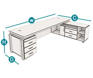 میز مدیریت رکتیکال تیپ 103L ، میز مدیریت اداری ، میز مدیریت ، میز ، خرید میز ، فروش میز ، میز اداری ، قیمت میز ، قیمت میز اداری