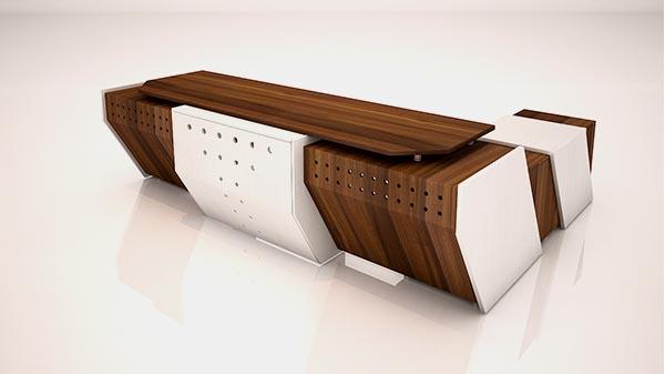میز مدیریت کستل تیپ 125L