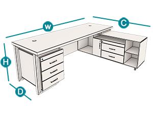 میز معاونت رکتیکال تیپ 303L ، میز معاونت ، میز ، خرید میز ، فروش میز ، میز اداری ، قیمت میز ، قیمت میز اداری