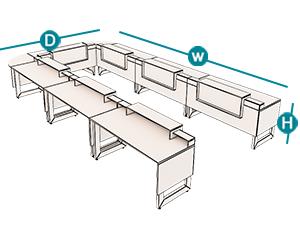 میزهای گردهمایی آرمز