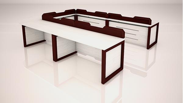 میز گردهمایی رکتیکال تیپ 703U