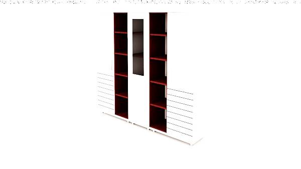 کمد دکوراتیو بلند شیدر تیپ 1104T