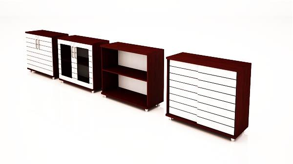 کمدهای کوتاه شیدر تیپ 1304-90