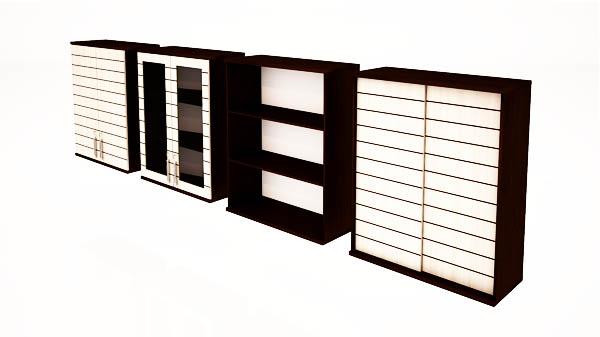 کمدهای دیواری شیدر تیپ 1404-90T