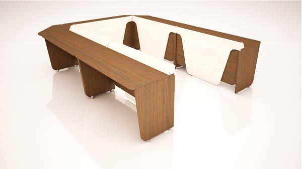 میز گردهمایی اینترست تیپ 706U