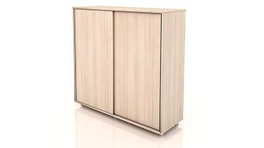 کمد درب کشویی کوتاه مدست تیپ 1301-120